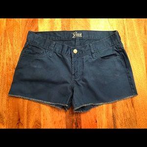 Old Navy Cobalt Blue Denim Cutoff Shorts